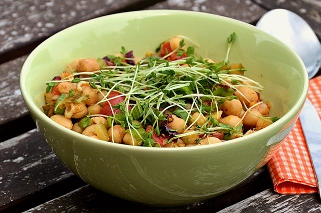 chickpeas salad | benefits of chickpeas